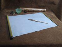 Магический свиток для рисования водой